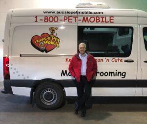 Ian with van